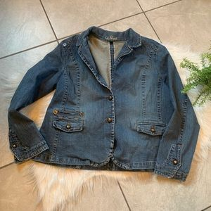 LA Blues. Jean jacket. Size 18W